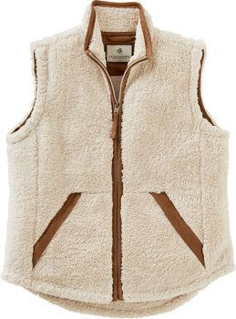Women's Fuzzy Hide Vest