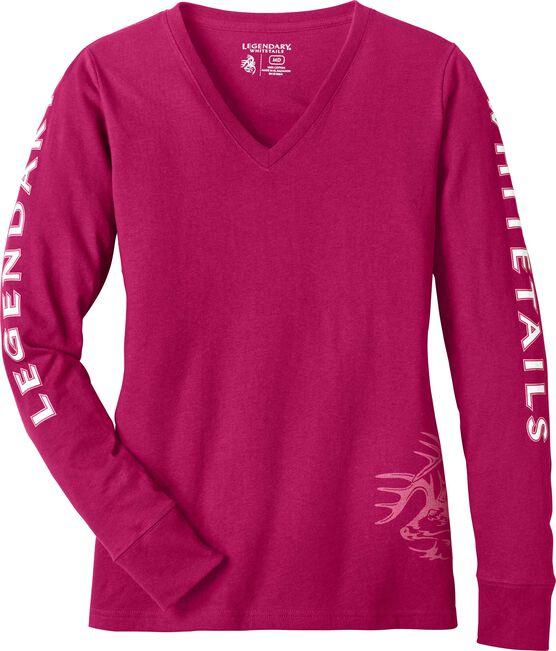 Women's Cotton Non-Typical Long Sleeve T-Shirt