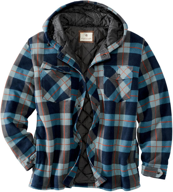 Men's Ranger Hooded Fleece Shirt Jacket