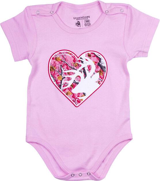 Infant Legendary Whitetails Short Sleeve Bodysuit