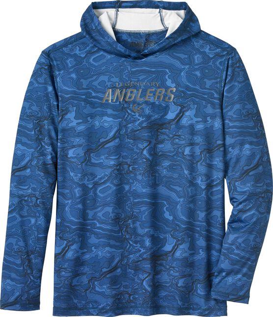 Men's Lake Series Hooded Performance Shirt
