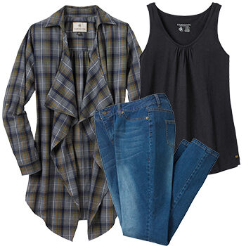 Fall into Flannel Set