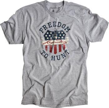Men's Freedom Crest Short Sleeve T-Shirt