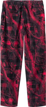 Men's Camo Plaid Fleece Pants