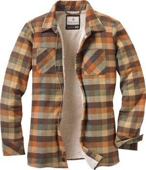 Women's Open Country Plaid Shirt Jacket
