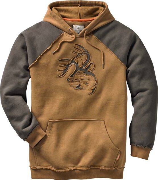 Men's Vintage Deer Camp Heavyweight Hoodie