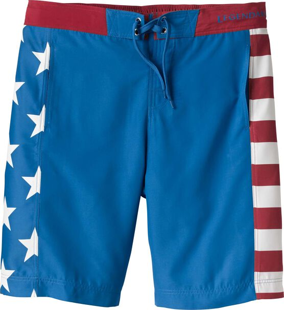 Men's Stars and Stripes Swim Trunks