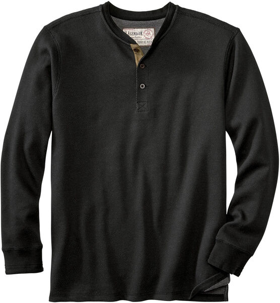 Men's Tough as Buck Double Layer Thermal Henley Shirt