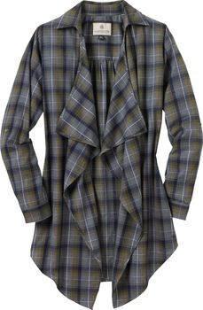 Women's Lakewood Plaid Cardigan