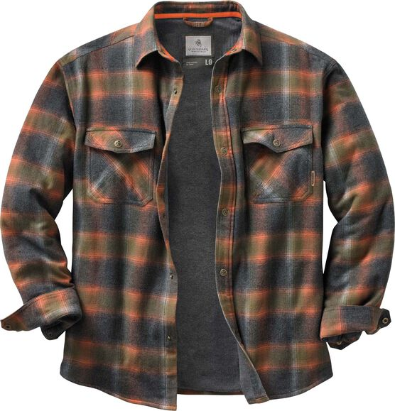 68991202c0b42 Men's Archer Thermal Lined Flannel Shirt Jacket Zoom. $15 Off