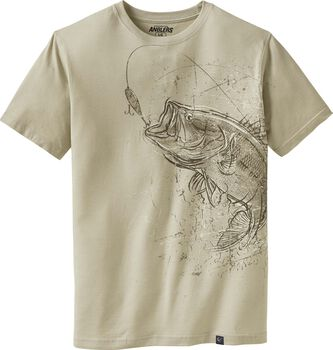 Men's Striking Bass Short Sleeve T-Shirt