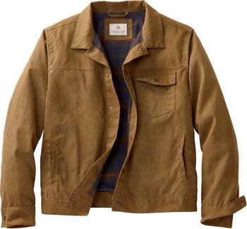 Men's Tough As Buck Waxed Trucker Jacket