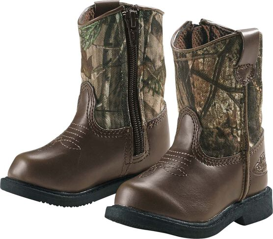 Infant & Toddler Camo Lil Dustin Cowboy Boots