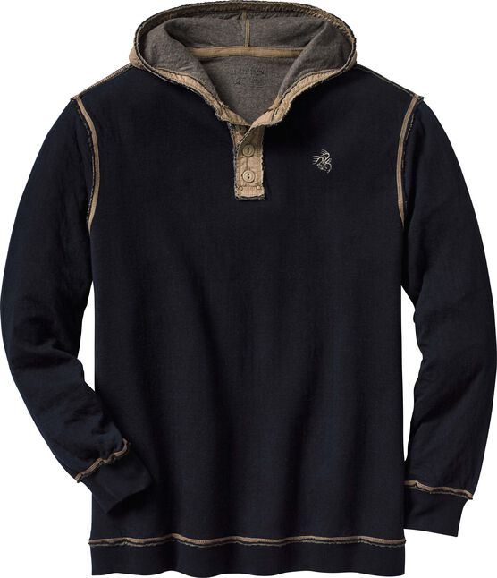 Men's Eliminator Hooded Pullover Henley