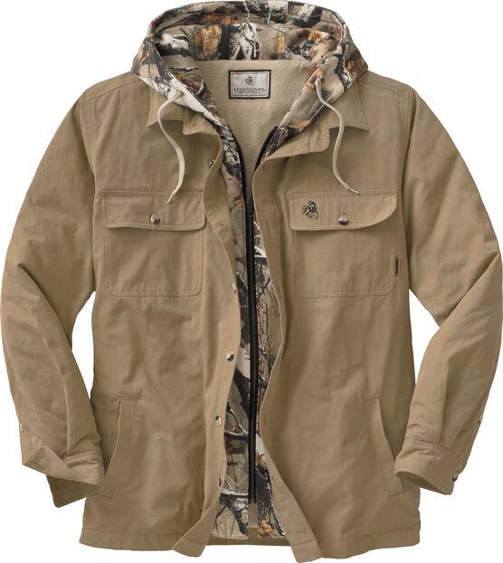 Men's Voyager Hooded Shirt Jacket