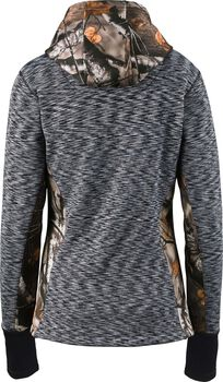 Women's Agility Full Zip Camo Performance Hoodie