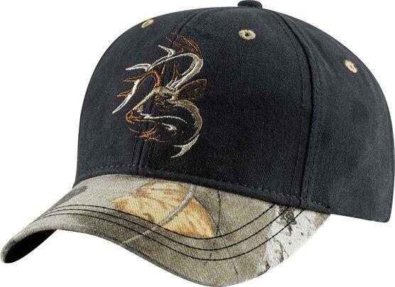 Men's Camo Shadow Buck Cap