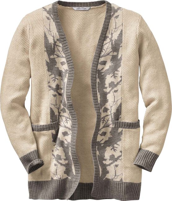 Women's Hidden Forest Camo Cardigan