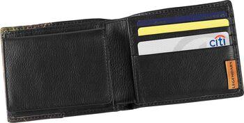 Men's Mossy Oak Black Leather Billfold Wallet