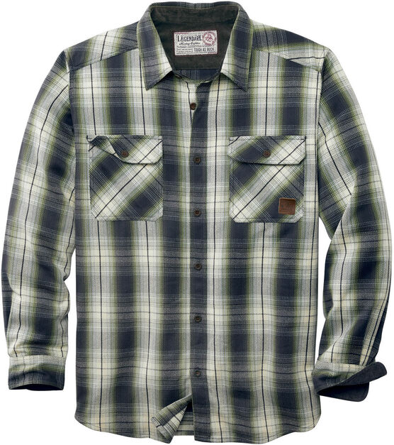 Men's Tough as Buck Heavyweight Flannel Shirt