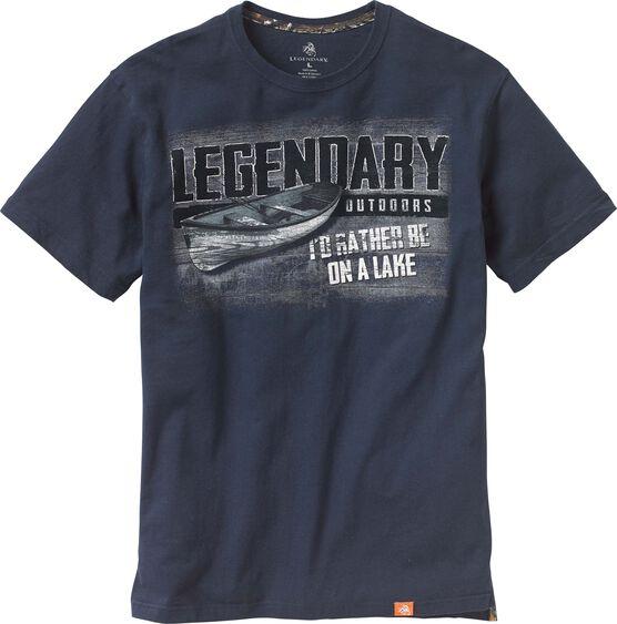 Men's Legendary Outdoors Canoe T-Shirt