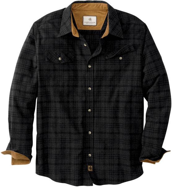 Men's Legendary Melange Flannel Shirt