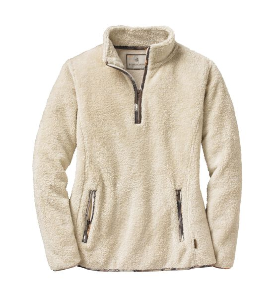 Women's Fuzzy Hide Fleece 1/4 Zip