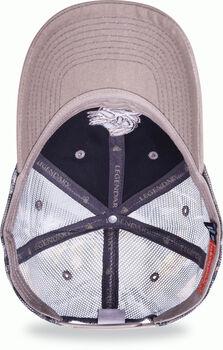 Men's Flat Top Patch Cap