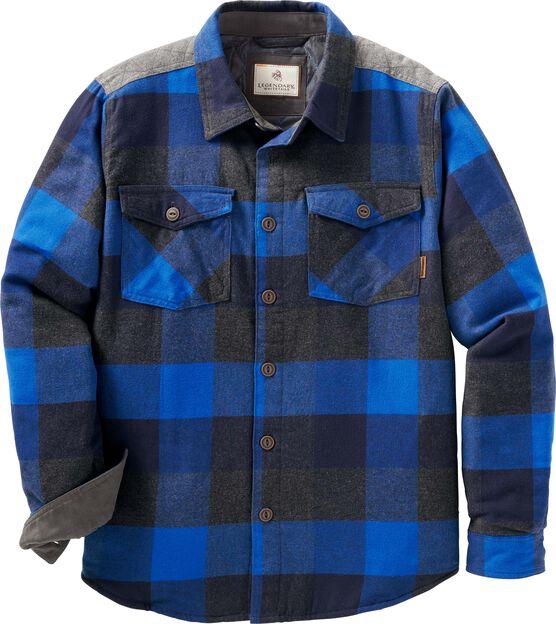 Men's Woodsman Heavyweight Flannel Shirt Jacket