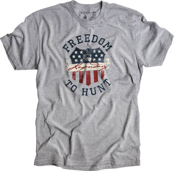 Men's Freedom Crest Short Sleeve T-Shirt