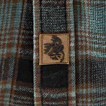 Men's Backwoods Hooded Flannel Shirt