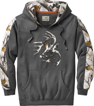 Men's Big Game Snow Camo Outfitter Hoodie