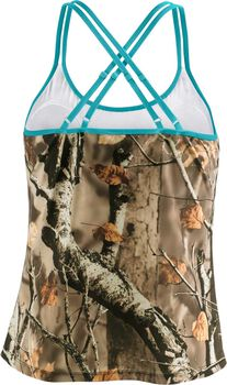 Women's Big Game Camo Oasis Tankini Top