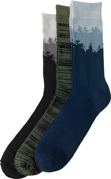 Men's Timber Shadow Casual Socks 3 Pack