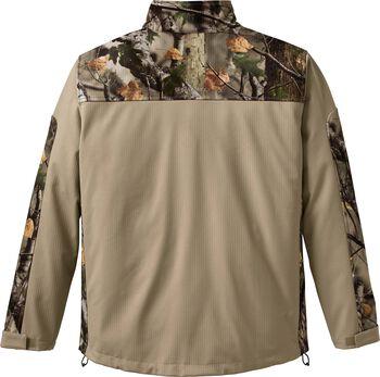 Men's Camo Hurricane Softshell Jacket