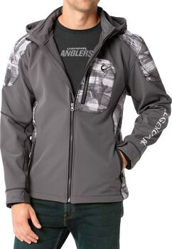 Men's Splitshot Hooded Softshell Jacket