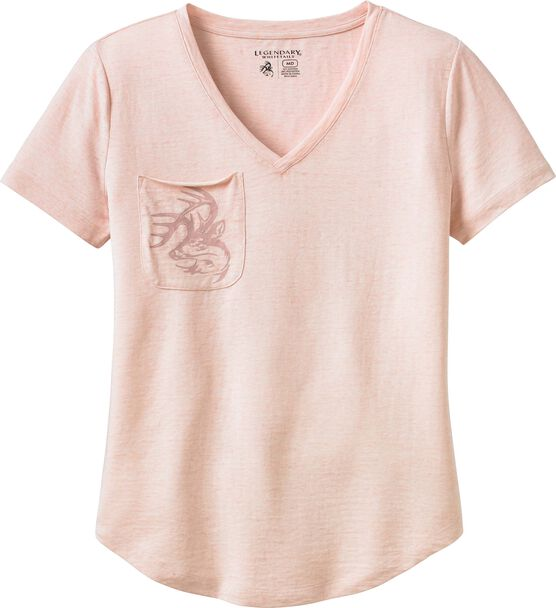Women's Signature Buck Short Sleeve Pocket T-Shirt