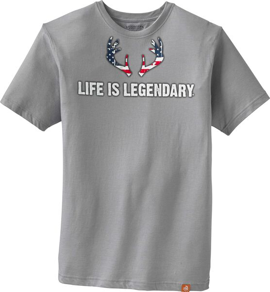Men's Life Is Legendary Americana T-shirt