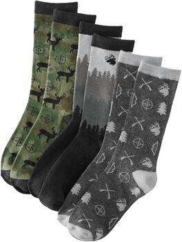 Men's Legendary Crew Socks 3-Pack