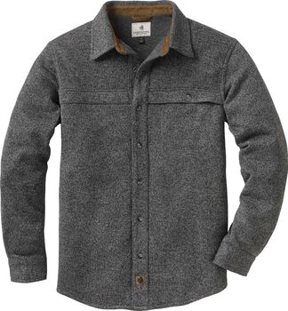 Men's Silent Hide Sweater Fleece Button Up