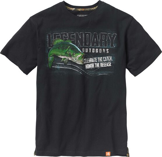 Men's Legendary Outdoors Bass T-shirt