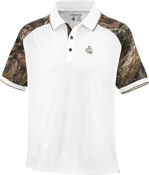Men's Mossy Oak Camo Pro Staff Polo