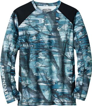 Men's Crystal Bay Long Sleeve Performance T-shirt