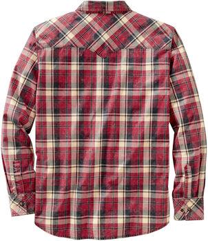 Men's Outlaw Western Plaid Shirt