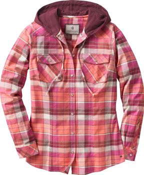 Women's Lumber Jane Hooded Flannel