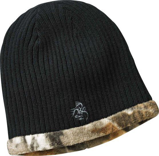 Men's Trophy Buck Reversible Knit Camo Hat