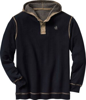 Men's Eliminator Hooded Pullover Henley