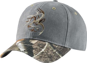 Men's Camo Shadow Buck Cap