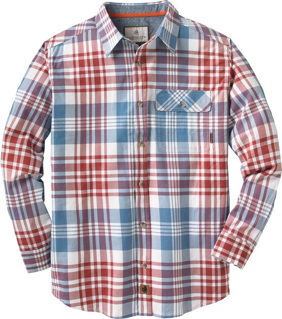 Men's Fireside Plaid Button Up Shirt
