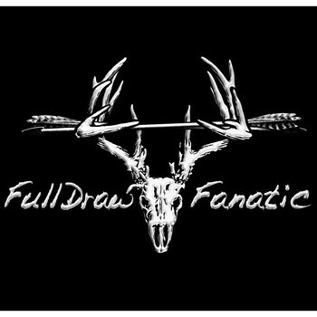 Full Draw Archery Truck Window Decal